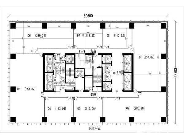 长城大厦-办公室短租