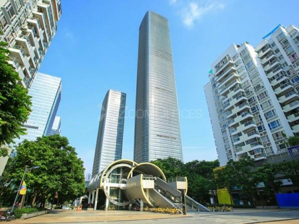 中洲控股金融中心-共享办公室