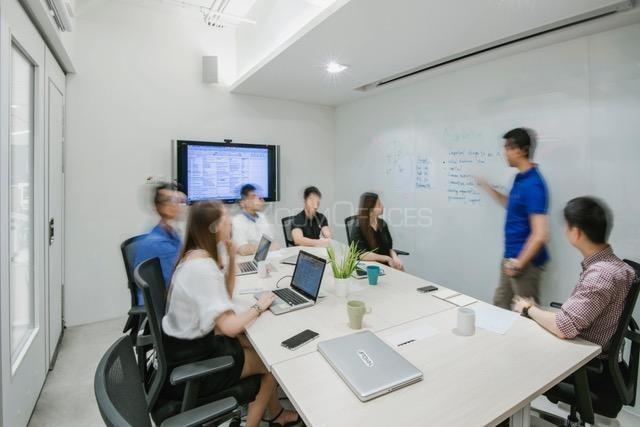 香港工业大厦-办公工位出租