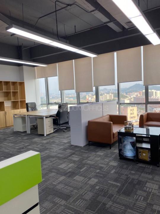 观澜湖国际大厦-办公工位租赁